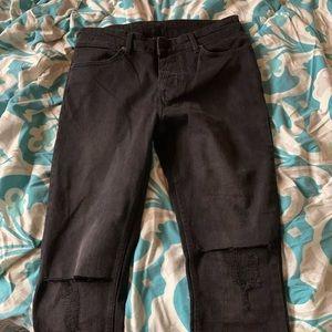 Ksubi Jeans all black size 32